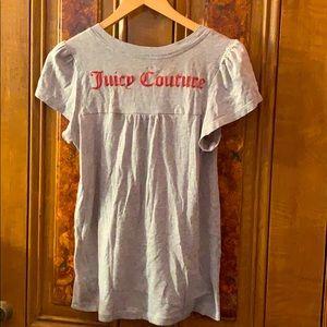 Juicy Couture Puff Sleeve Tee Shirt
